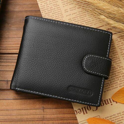 Mens Black Wallet BiFold