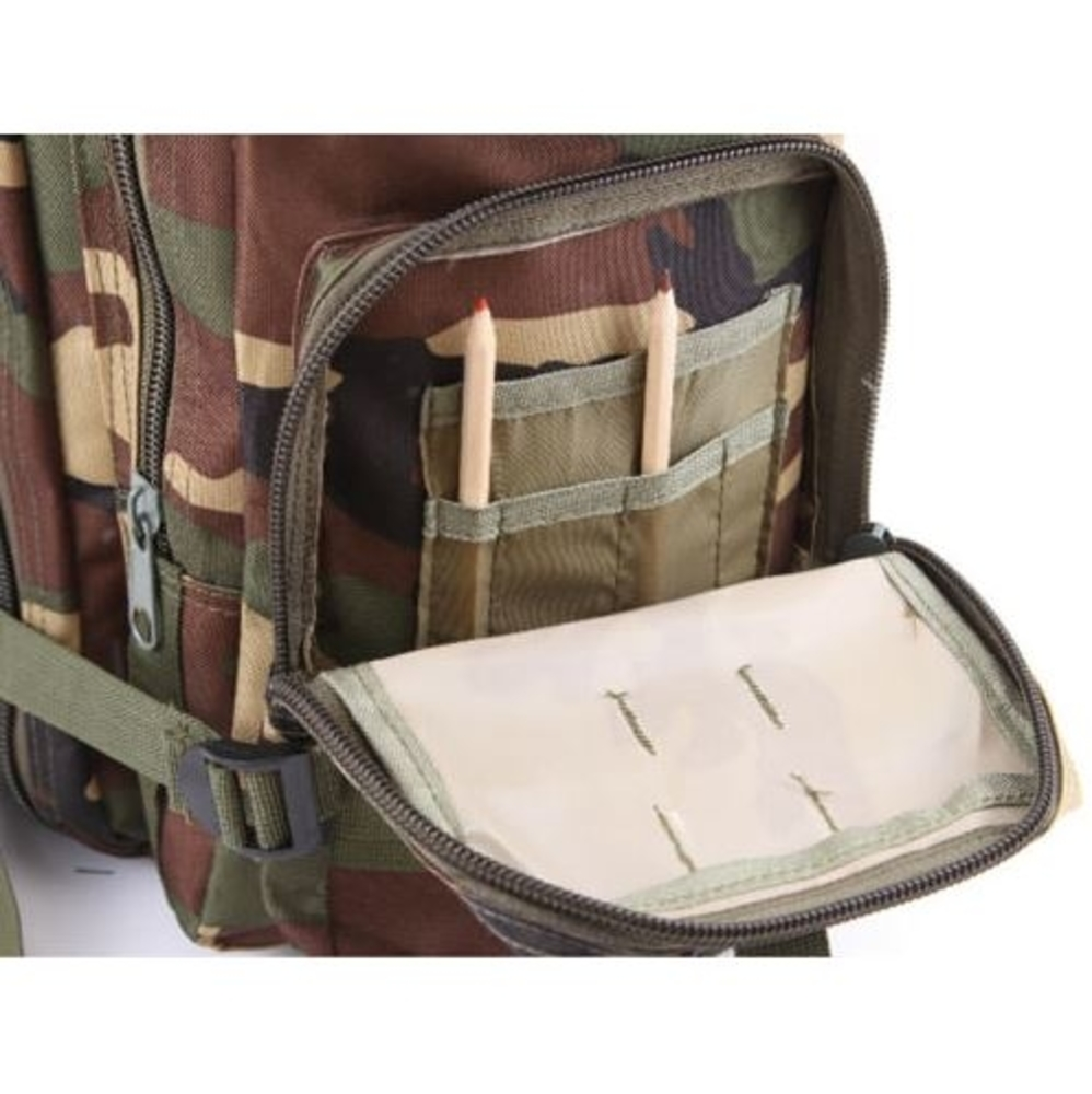 Camo Army Backpack