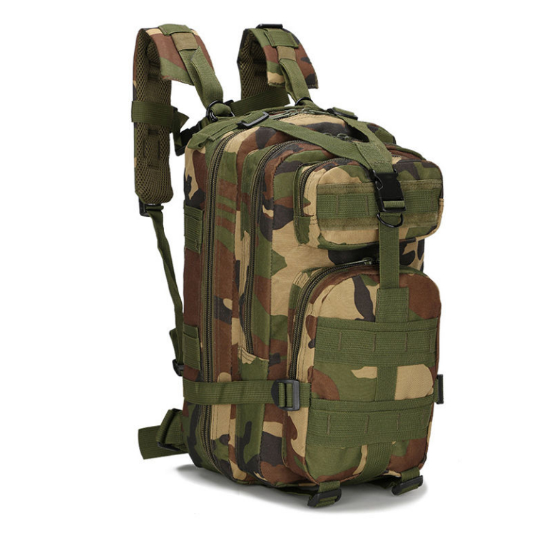 Camo School Backpack-
