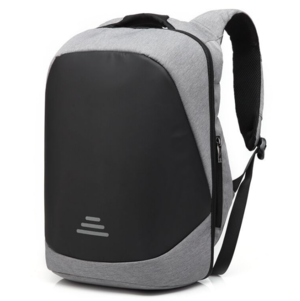 Grey Security Backpack